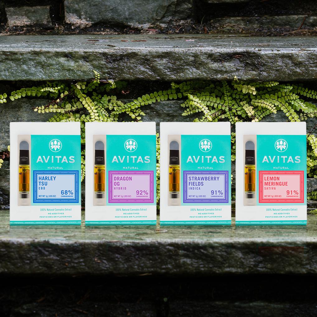 PRE-FILLED CARTRIDGES – Avitas Cannabis